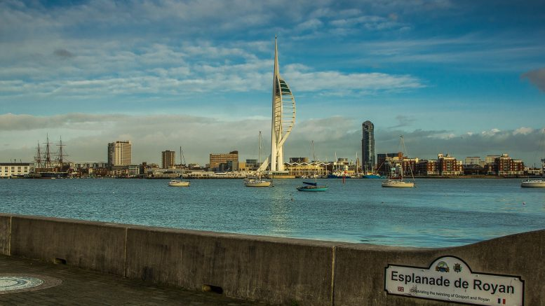 Portsmouth is a port city in Hampshire, England